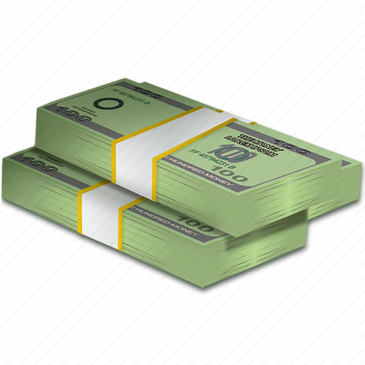 bundle, buy, currency, dollars, economy, money, rich icon