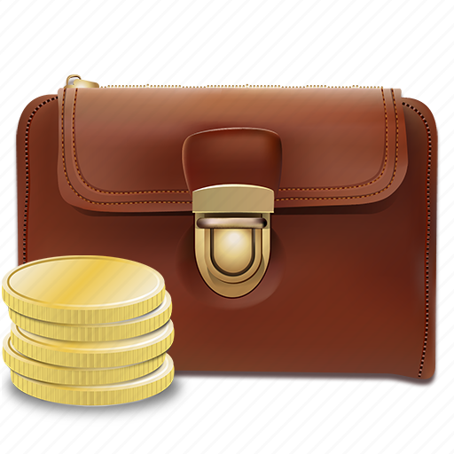 cash, coins, money, stack, wallet, wealth icon
