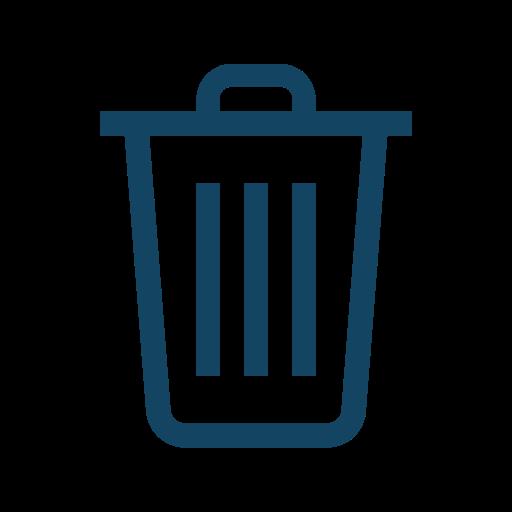 delete, garbage, trash icon