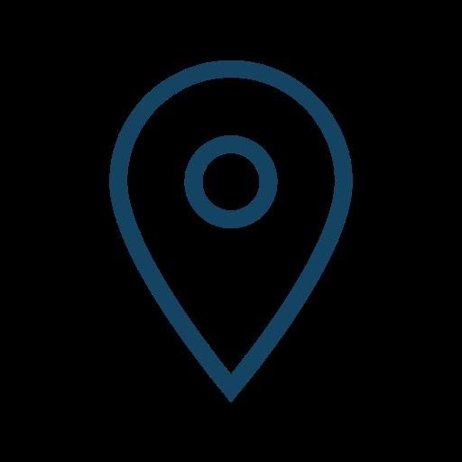location, map, marker icon