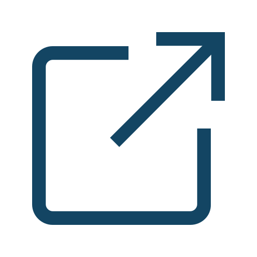 launch, open, share icon