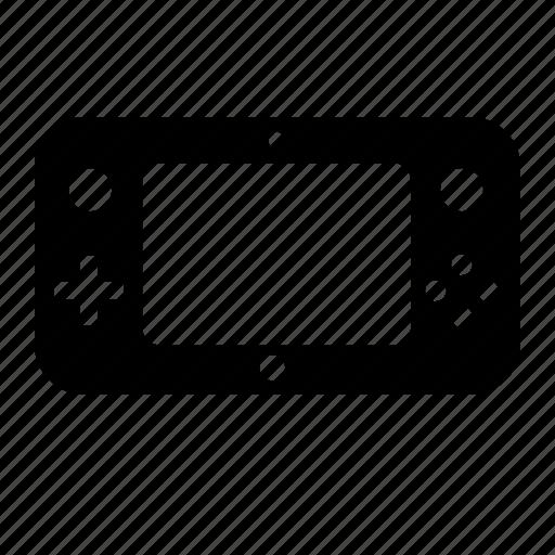 console, controller, game, gamepad, joystick, u, wii icon