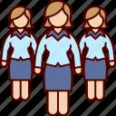 business, executives, team, woman, women