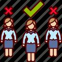 executive, job, selection, woman, women