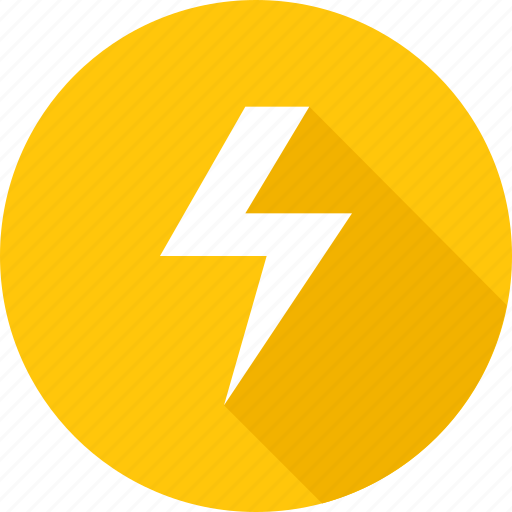 electric, electrical, electricity, flash, power icon