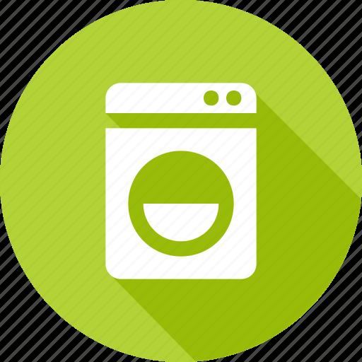 clean, laundry, wash, washer, washing machine icon