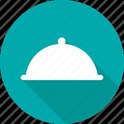 dinner, dish, eat, restaurant, salver, serve, waiter icon