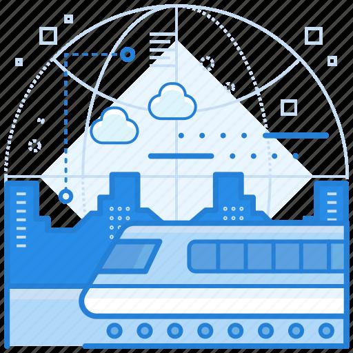 Train, transportation, travel icon - Download on Iconfinder