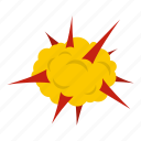 blast, bomb, boom, burst, effect, explode, power explosion icon