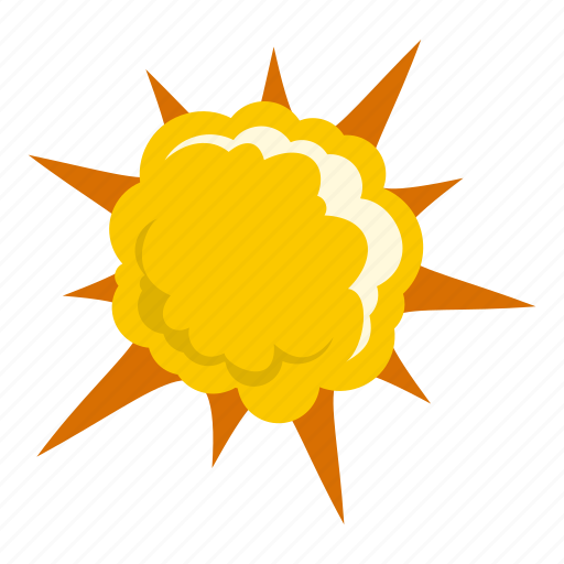 blast, bomb, boom, burst, effect, explode, powerful explosion icon
