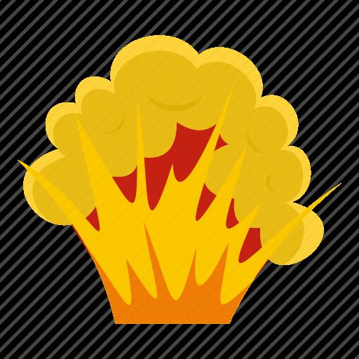 blast, bomb, boom, burst, effect, explode, flame and smoke icon