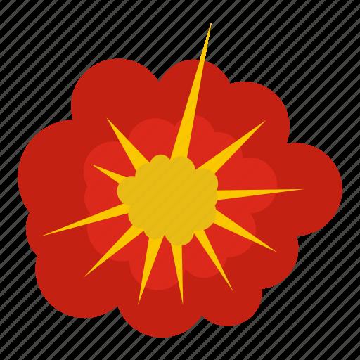 blast, bomb, boom, burst, cloudy explosion, effect, explode icon