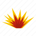 blast, bomb, boom, burst, effect, explode, nuclear explosion icon