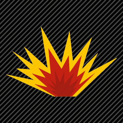 blast, bomb, boom, burst, effect, explode, nuclear explosion icon