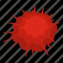 atomic explosion, blast, bomb, boom, burst, effect, explode icon