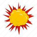 blast, bomb, boom, burst, effect, explode, terrible explosion icon