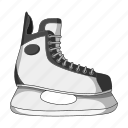 game, hockey, play, shoes, skates, sport icon