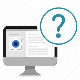 detect, eye, person, question, secret icon