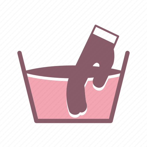 care, cleaning, delicate, fabric care, handwash icon icon