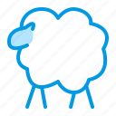 lamb, sheep, wool icon