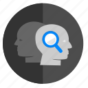 biometry, face, identity, person, scan, search icon