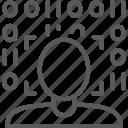 biometric, detection, face, identity, line, scan, verification