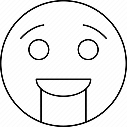cheerful, emotions, face, smiley icon