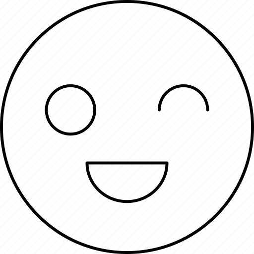 emotions, face, happy, smiley icon