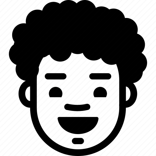 Boy, emotion, face, happy, laugh, man, smile icon - Download on Iconfinder