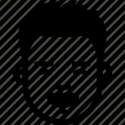 emotion, face, guy, happy, laugh, man, smile icon