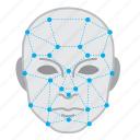 artificial intelligence, face recognition, facial, robot, tech, technology