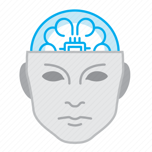 Artificial intelligence, high tech, robot, robotics, tech icon - Download on Iconfinder
