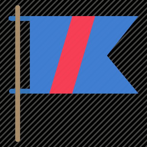 flag, golf, sign, sport icon