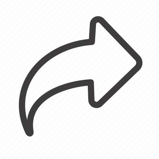 Arrow, direction, forward, right icon - Download on Iconfinder