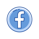 facebook logo, label, logo, website