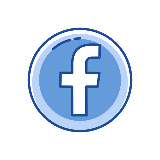 facebook logo, label, logo, website icon