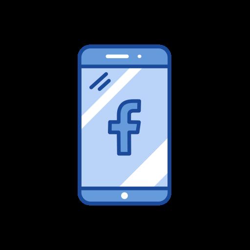 facebook logo, logo, mobile, website icon