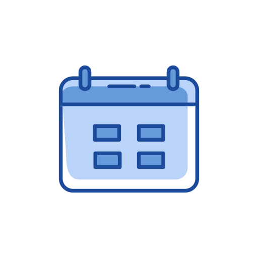 calendar, date, events, logs icon