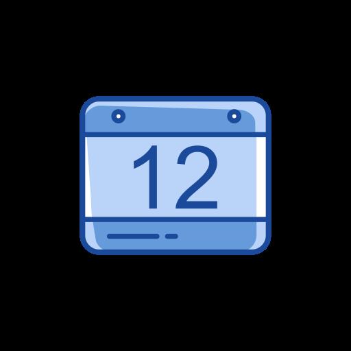 calendar, date, reminder, twelve icon