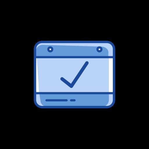 calendar, check, correct, date icon