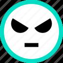 arggh, emoji, emotion, face, faces, feeling icon