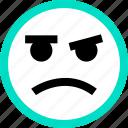 emoji, emotion, face, faces, feeling, hm, not icon