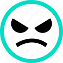 emoji, emotion, face, faces, feeling, maddd icon