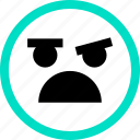 emoji, emotion, face, faces, feeling, no icon