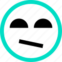 emoji, emotion, face, faces, feeling, not icon