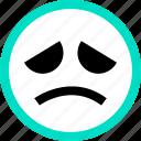 emoji, emotion, face, faces, feeling, saddd icon