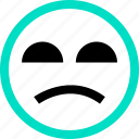emoji, emotion, face, faces, feeling, no, yeah icon