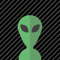alien, avatar, head, photo, portrait icon