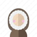 avatar, coat, cold, eskimo, greenland, hood, photo icon