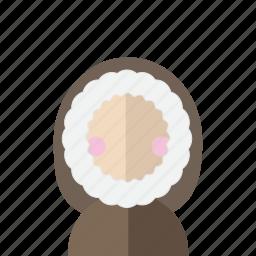 avatar, coat, cold, eskimo, greenland, hood, photo icon